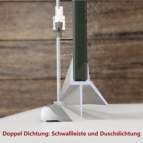 dusche duschkabine faltt r duschabtrennung 80x80cm. Black Bedroom Furniture Sets. Home Design Ideas