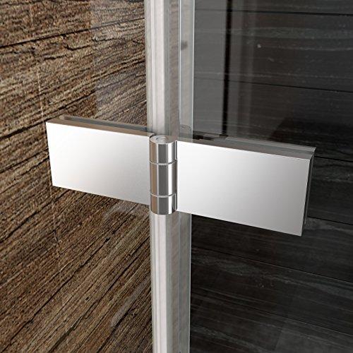 Dusche Duschkabine Falttür Duschabtrennung 80x80cm Eckeisntieg ...