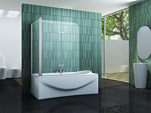 eck duschtrennwand perinto 70 badewanne duschk pfe. Black Bedroom Furniture Sets. Home Design Ideas