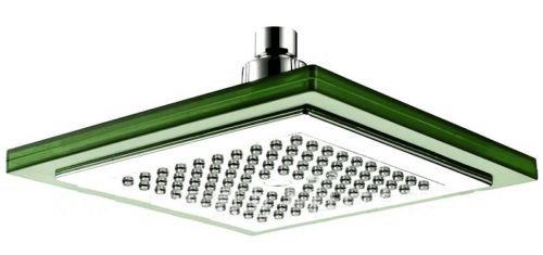 gro e led duschkopf regendusche eckig regen brause wellnessbrause brausekopf star line 7 farben. Black Bedroom Furniture Sets. Home Design Ideas