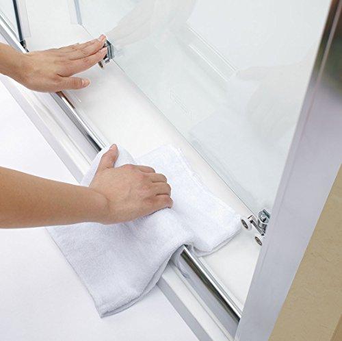 76x76cm duschkabine eckeinstieg doppel schiebet r echtglas duschwand duschk pfe. Black Bedroom Furniture Sets. Home Design Ideas