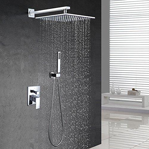 morderne duschbrause edelstahl wasserfall duschkopf