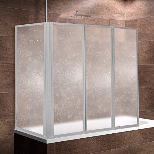 schulte duschwand well mit und ohne seitenwand 3 teilig faltbar kunstglas tropfen dekor. Black Bedroom Furniture Sets. Home Design Ideas