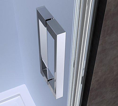 90x190 cm nischent r nischendreht r teramo22 mit dreht r esg sicherheitsglas klarglas. Black Bedroom Furniture Sets. Home Design Ideas