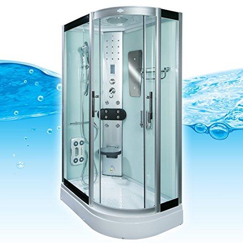 acquavapore dtp8060 7000r dusche duschtempel komplett duschkabine 80x120 duschk pfe. Black Bedroom Furniture Sets. Home Design Ideas