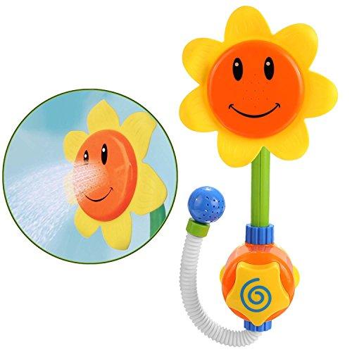 arshiner baby sonnenblume wasserspritz dusche spielzeug badewannenspielzeug zum wasserspiel. Black Bedroom Furniture Sets. Home Design Ideas