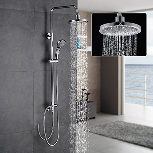 bonade dusche regendusche set ohne duscharmatur duschk pfe. Black Bedroom Furniture Sets. Home Design Ideas