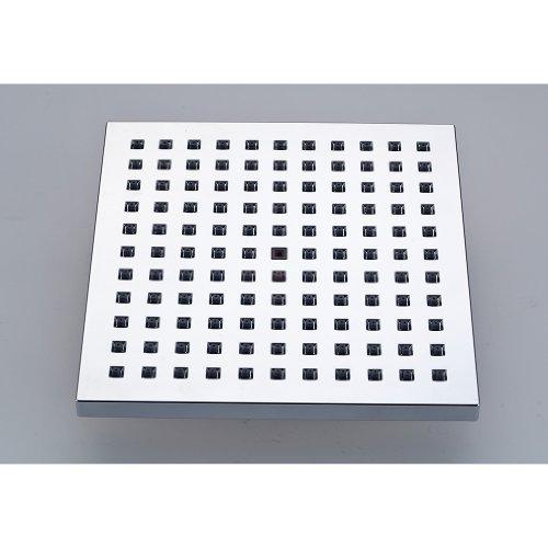 auralum duschs ule brausegarnitur duscharmatur f r badezimmer mit 20x20 cm regenduschkopf. Black Bedroom Furniture Sets. Home Design Ideas