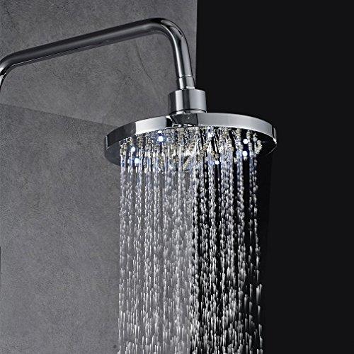 auralum elegant regendusche regendusche set duschset ohne duscharmatur duschsystem wasserfall. Black Bedroom Furniture Sets. Home Design Ideas
