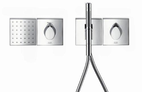 axor starck 2jet stabhandbrause chrom duschk pfe. Black Bedroom Furniture Sets. Home Design Ideas