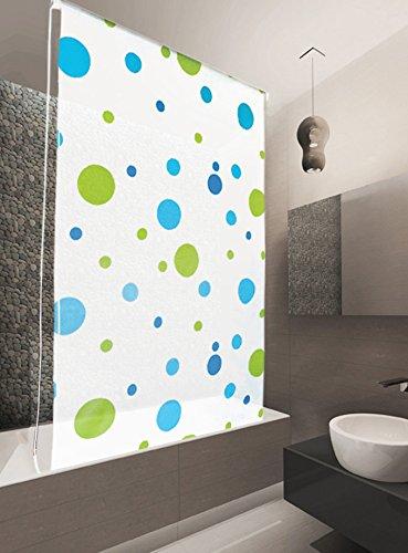 basic duschrollo modell sylt 140x240 cm duschvorhang weiss. Black Bedroom Furniture Sets. Home Design Ideas