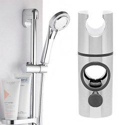 Brausekopf an einer Duschstange