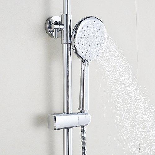 cnbbgj qualit t sanit r dusche dusche verstellbare handbrause runder l fter decke duschkopf. Black Bedroom Furniture Sets. Home Design Ideas
