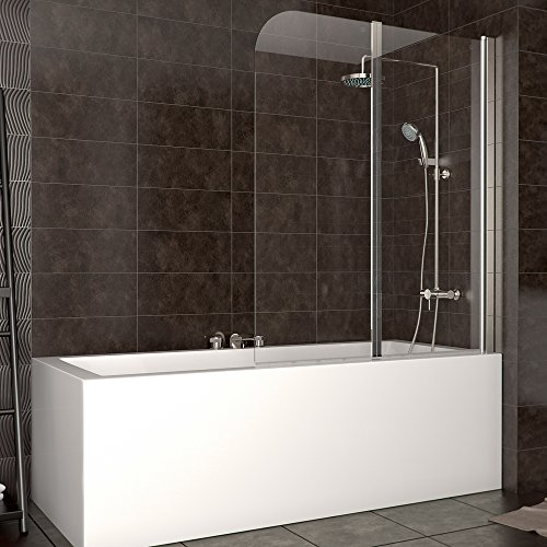 duschabtrennung badewanne duschwand badewannenfaltwand glas dusche din rechts duschk pfe. Black Bedroom Furniture Sets. Home Design Ideas