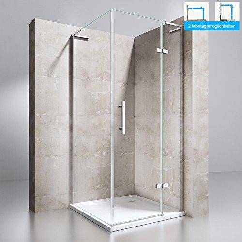 duschabtrennung duschkabine ravenna48 aus esg. Black Bedroom Furniture Sets. Home Design Ideas