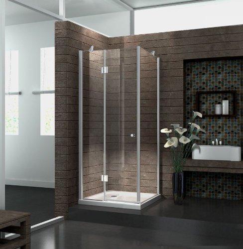 duschkabine novum 90 x 90 x 195 cm duschk pfe. Black Bedroom Furniture Sets. Home Design Ideas