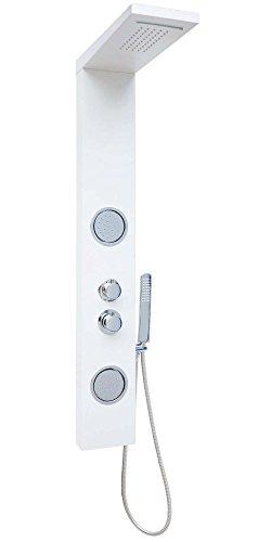 duschpaneel brausepaneel duschs ule duschsystem komplettdusche thermostat aus aluminium gro e. Black Bedroom Furniture Sets. Home Design Ideas
