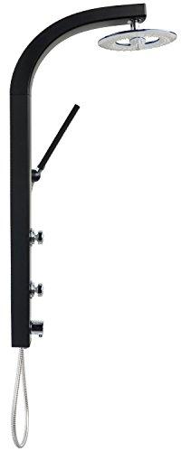 duschpaneel brausepaneel duschs ule duschsystem komplettdusche gro e wasserfall regendusche mit. Black Bedroom Furniture Sets. Home Design Ideas