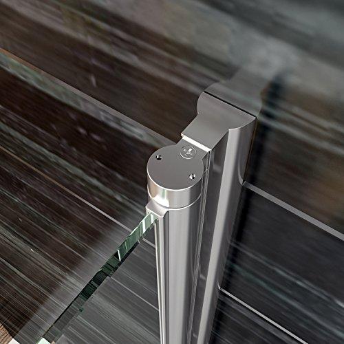 faltt r duschkabine runddusche 80x80cm eckeinstieg duschabtrennung esg glas viertelkreis. Black Bedroom Furniture Sets. Home Design Ideas