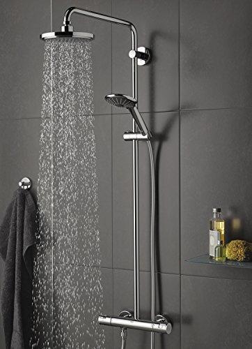 grohe vitalio joy 180 duschsystem mit thermostat 27298001 duschk pfe. Black Bedroom Furniture Sets. Home Design Ideas