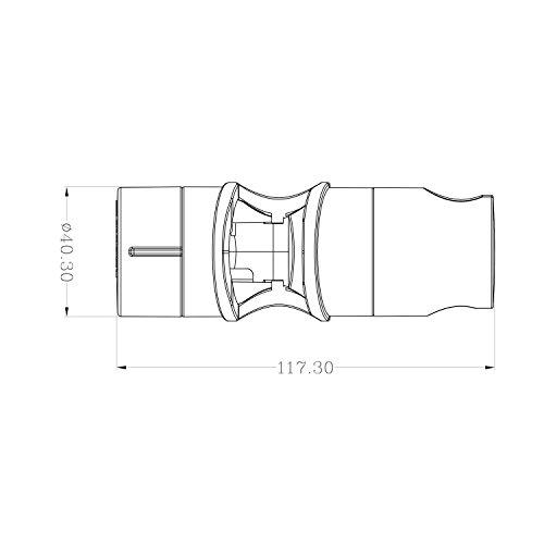 handbrause halterung aoleca f r slide bar 18 25 mm au en durchmesser verstellbar brausehalter. Black Bedroom Furniture Sets. Home Design Ideas