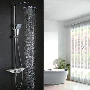 duschsystem mit thermostat kaufen duschsystem mit thermostatbatterie. Black Bedroom Furniture Sets. Home Design Ideas