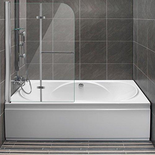 homelux badewannenaufsatz badewannenfaltwand faltduschwand sicherheitsglas 6 mm mit lotuseffekt. Black Bedroom Furniture Sets. Home Design Ideas