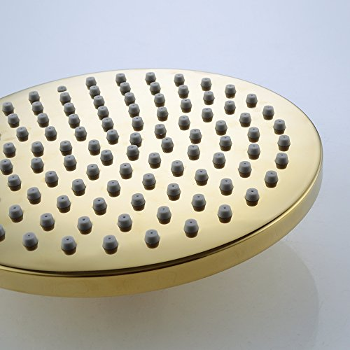 kes 20 cm edelstahl duschkopf regenbrause rund regen dusche kopfbrause brausekopf j203 p. Black Bedroom Furniture Sets. Home Design Ideas