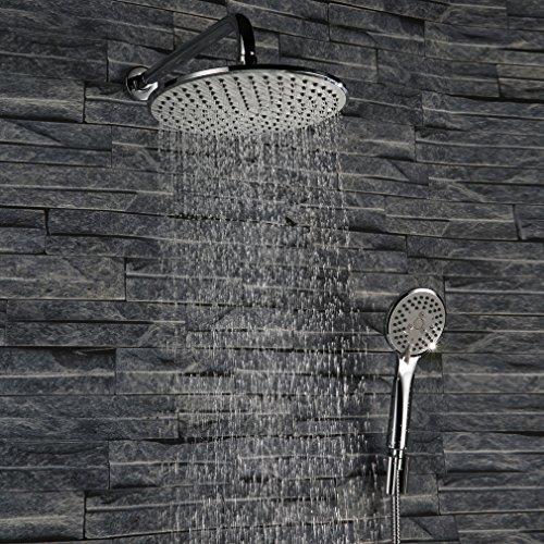kinse verdeckte installation duschpaneel duschsysteme mit lcd wassertemperatur display. Black Bedroom Furniture Sets. Home Design Ideas