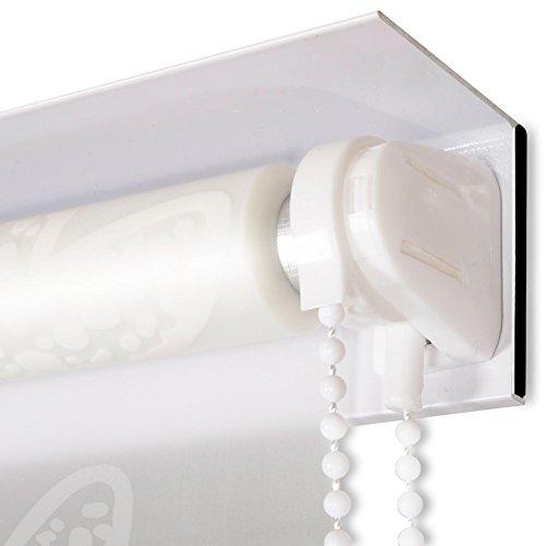 modernes duschrollo mit kassette schnelltrocknendes rollo f r dusche und badewanne. Black Bedroom Furniture Sets. Home Design Ideas