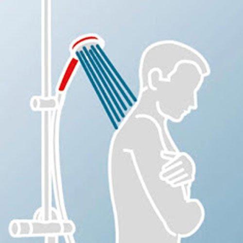 schulte duschmaster rain ii d9638 aufputz brauseset mit kopfbrause und einhebelmischer duschk pfe. Black Bedroom Furniture Sets. Home Design Ideas