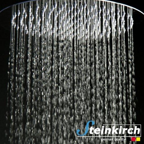 steinkirchtm xxl rainshower duschkopf rund 30cm. Black Bedroom Furniture Sets. Home Design Ideas