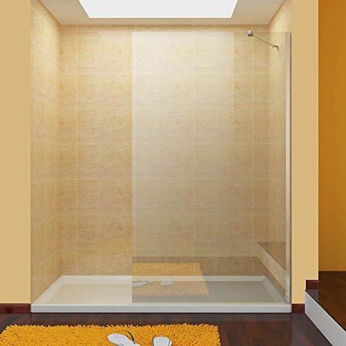 walk in dusche duschabtrennung duschwand duschkabine 90x195cm aus esg sicherheitsglas mit. Black Bedroom Furniture Sets. Home Design Ideas
