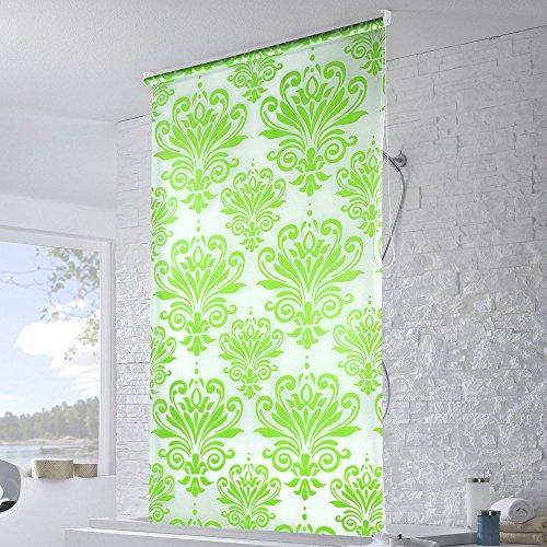 yahee duschrollo duschvorhang shower rollo 100 x 140cm farbwahl duschk pfe. Black Bedroom Furniture Sets. Home Design Ideas
