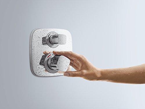 hansgrohe ecostat e thermostat unterputz f r 2 verbraucher chrom 15708000 duschk pfe. Black Bedroom Furniture Sets. Home Design Ideas