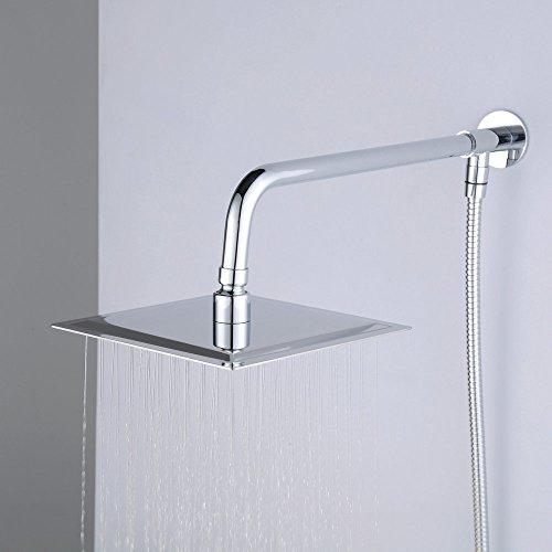 hiendure wandhalterung 20 3 cm rainfall duschkopf. Black Bedroom Furniture Sets. Home Design Ideas