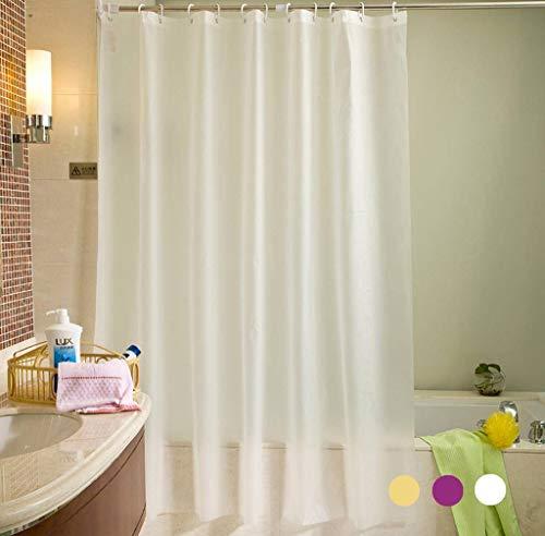 coaoc duschvorhang peva anti schimmel anti bakteriell. Black Bedroom Furniture Sets. Home Design Ideas
