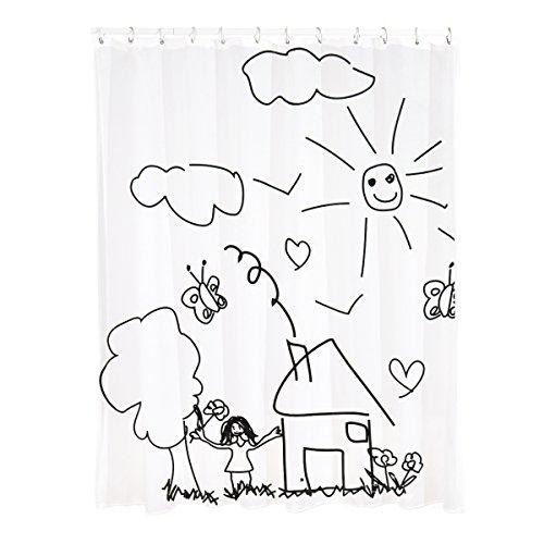 Duschvorhang, Badvohang, Duschvorhänge, Badvorhänge, Badewannen Vorhang
