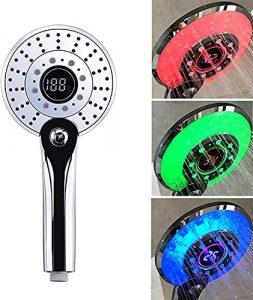 LED Duschkopf, Handbrause mit LED, Duschkopf mit LED